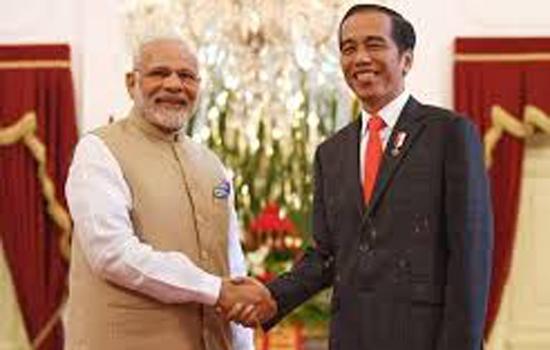भारत और इंडोनेशिया के बीच व्यापक रणनीतिक साझेदारी को लेकर समझौता हुआ