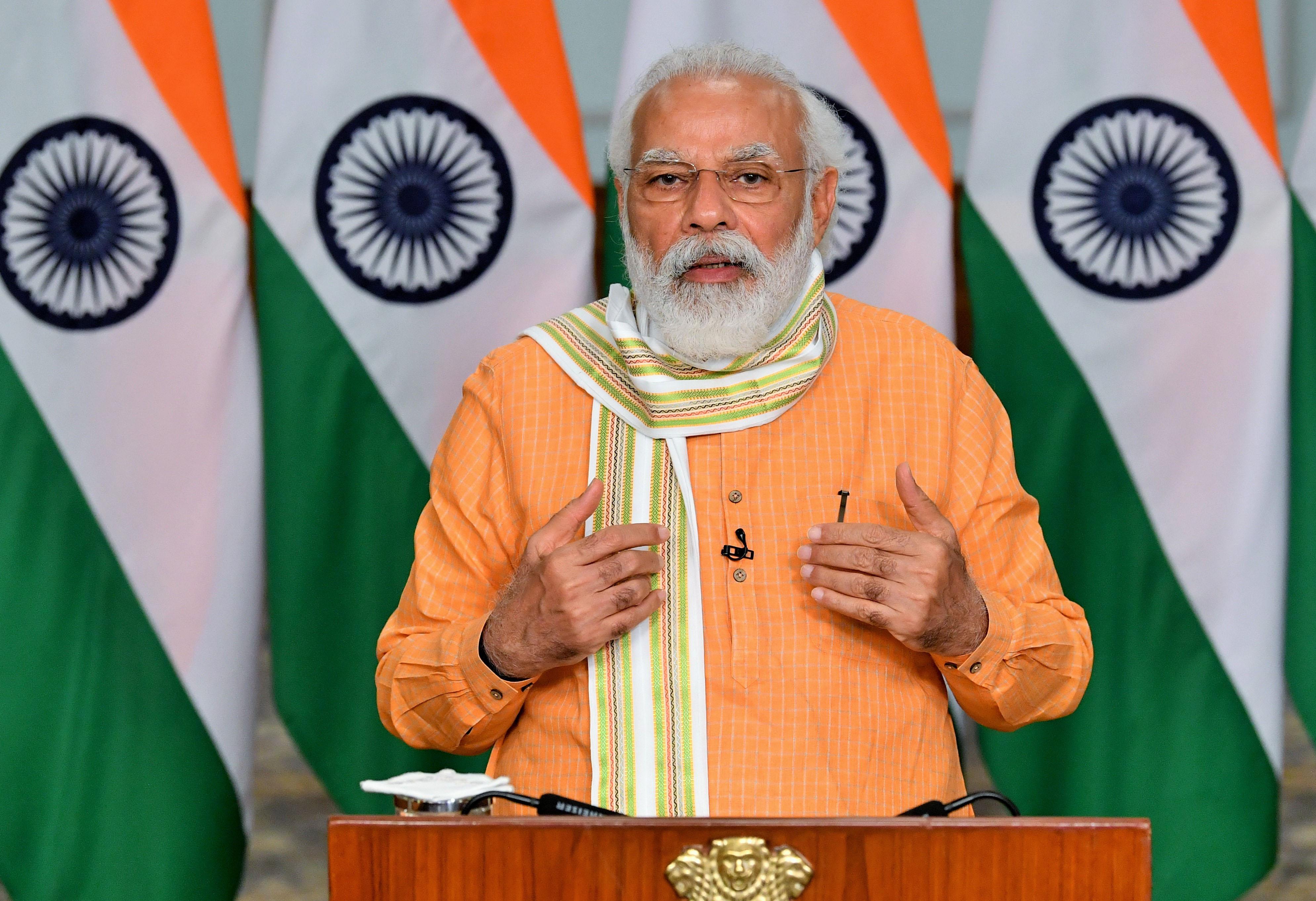 भारत प्रतिभा का पावरहाउस वैश्विक पुनरुत्थान में अग्रणी भूमिका निभा रहा है: प्रधानमंत्रीनरेन्द्र मोदी