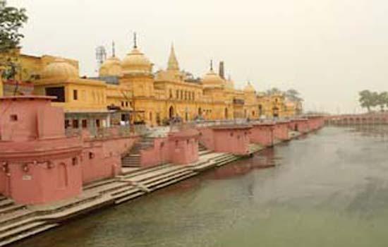 अयोध्या में 51 प्रमुख नदियों और तीर्थ से आया जल