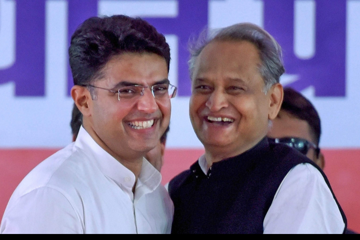 Once again Gehlot emerges victorious*