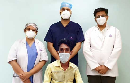 गीतांजली हॉस्पिटल उदयपुर में पोर्टल वेन सटेंटिंग द्वारा आंत में रक्त स्त्राव का हुआ सफल इलाज