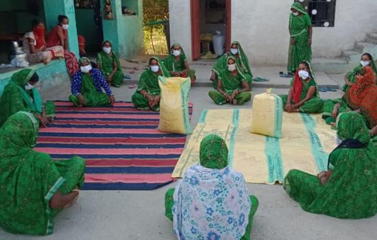 जावर क्षेत्र में ग्रामीण महिला सशक्तिकरण की मिसाल बनी तारा और कमला