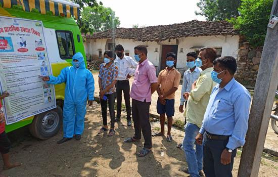 जिंक द्वारा चैगावाडी में विश्व प्राथमिक उपचार दिवस पर जागरूकता कार्यशाला