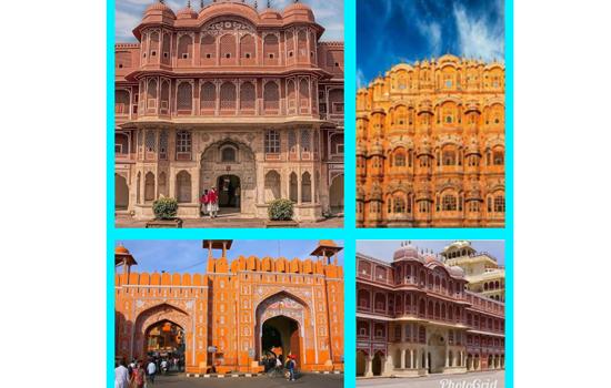 गुलाबी नगर जयपुर भारत का दूसरा शहर है जिसे यूनेस्को ने विश्व धरोहर का खिताब दिया