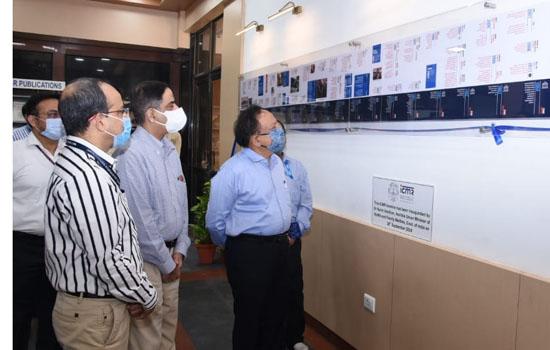 डॉ. हर्ष वर्धन ने आईसीएमआर के हिस्ट्री टाइमलाइन का अनावरण किया