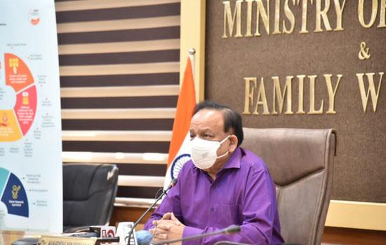 डॉ. हर्ष वर्धन ने भारतीय उद्योग परिसंघ (सीआईआई) की राष्ट्रीय परिषद को संबोधित किया