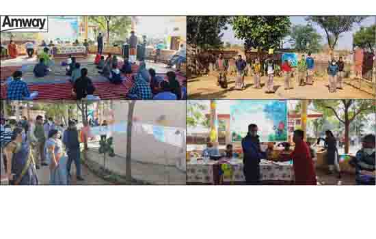 Amway sparks creativity in young minds by hosting virtual events to celebrate Children's day