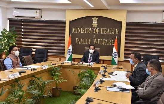 डॉ. हर्ष वर्धन ने भारत-स्वीडन स्वास्थ्य सेवा नवाचार केन्द्र – वार्षिक सम्मेलन के उद्घाटन सत्र की अध्यक्षता की