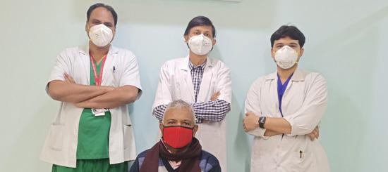कोरोना पॉजिटिव हुए रोगियों की किडनियों का हुआ सफल इलाज