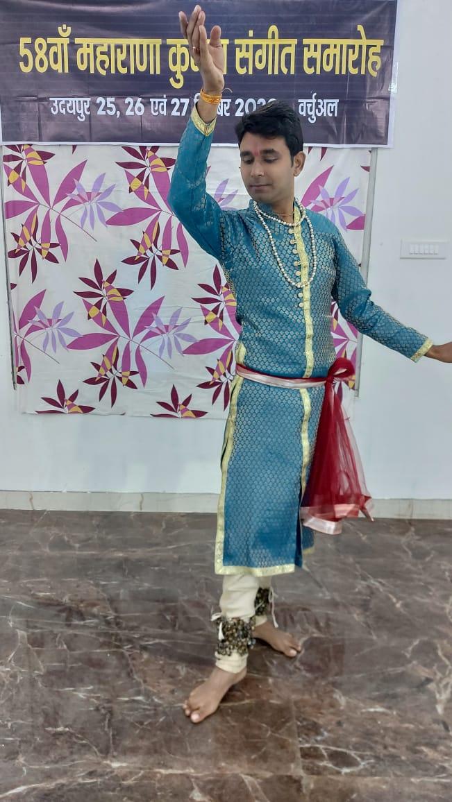 कत्थक के साथ 58 वें महाराणा कुम्भा संगीत समारोह की वर्चुअल हुई शुरूआत