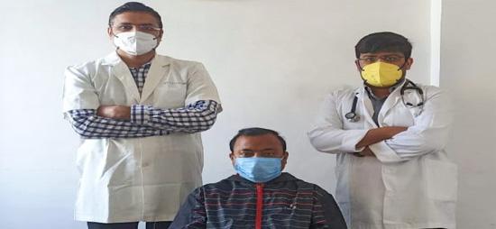कोरोना संक्रमण से ग्रसित गंभीर रोगियों का गीतांजली हॉस्पिटल में हो रहा है सफल इलाज