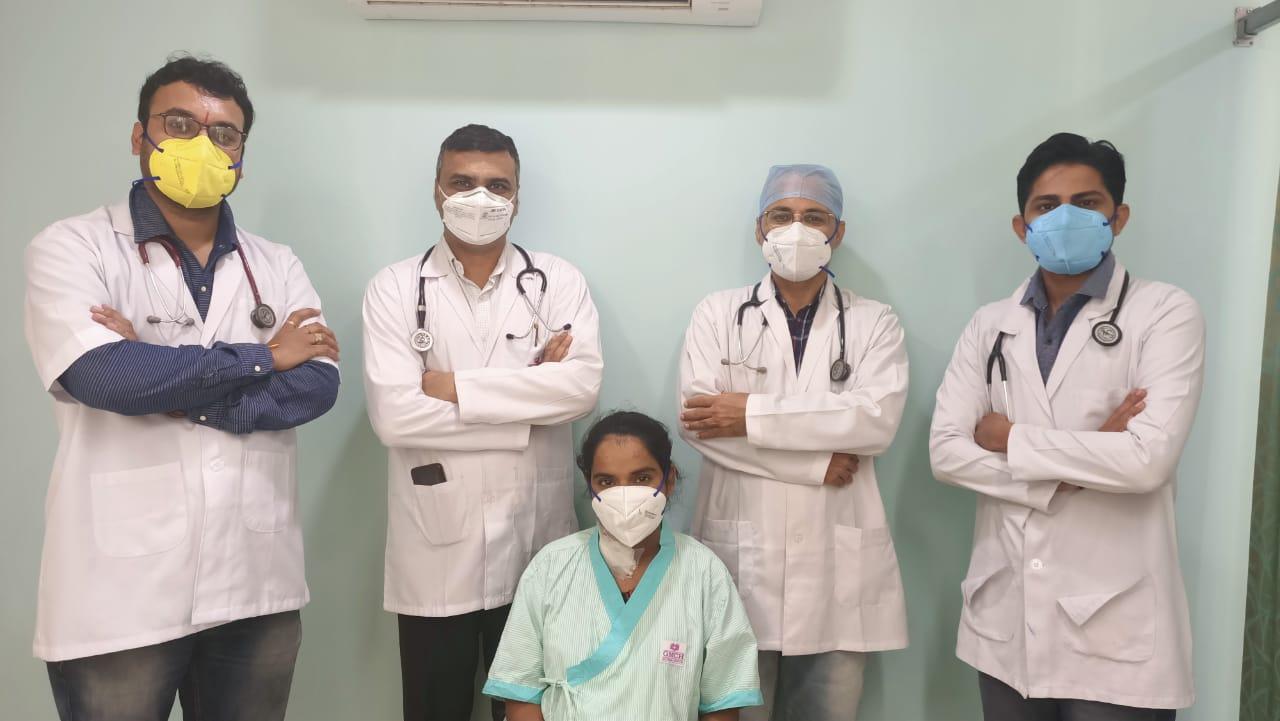 रूढ़िवादिता के कारण शारीरिक व मानसिक समस्याओं से झूझ रही महिला रोगी का हुआ सफल इलाज