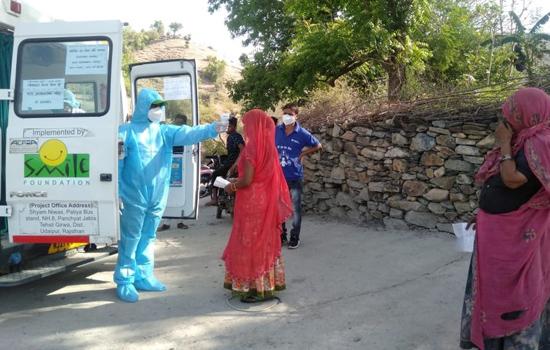 ग्रामीण क्षेत्र में प्राथमिक स्वास्थ्य हेतु संजीवनी है हिन्दुस्तान जिंक की स्माइल ऑन व्हील्स