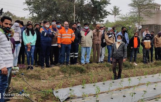हिन्दुस्तान जिंक द्वारा बिछडी में किसान सम्मेलन आयोजित