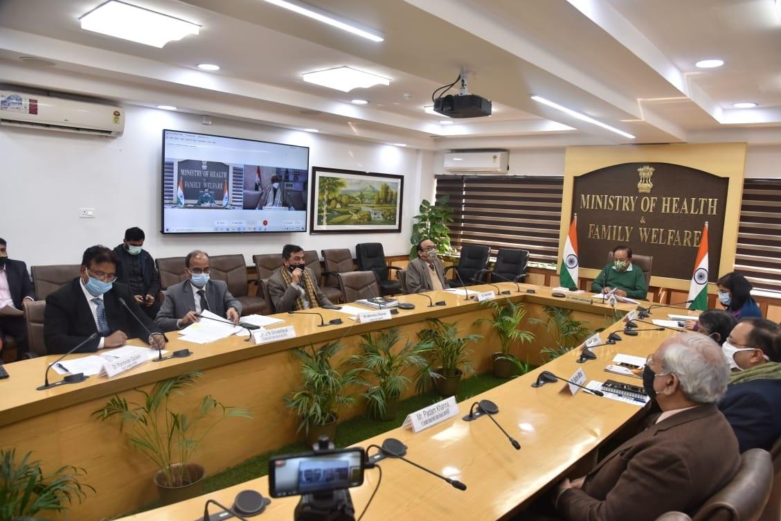डॉ. हर्ष वर्धन ने एम्स गुवाहाटी में पहले बैच के शिक्षा सत्र का उद्घाटन किया