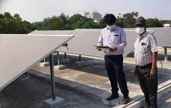 SOLAR PLANT BOOST FOR GREEN KOTA GOVERNMENT DIVISIONAL PUBLIC LIBRARY