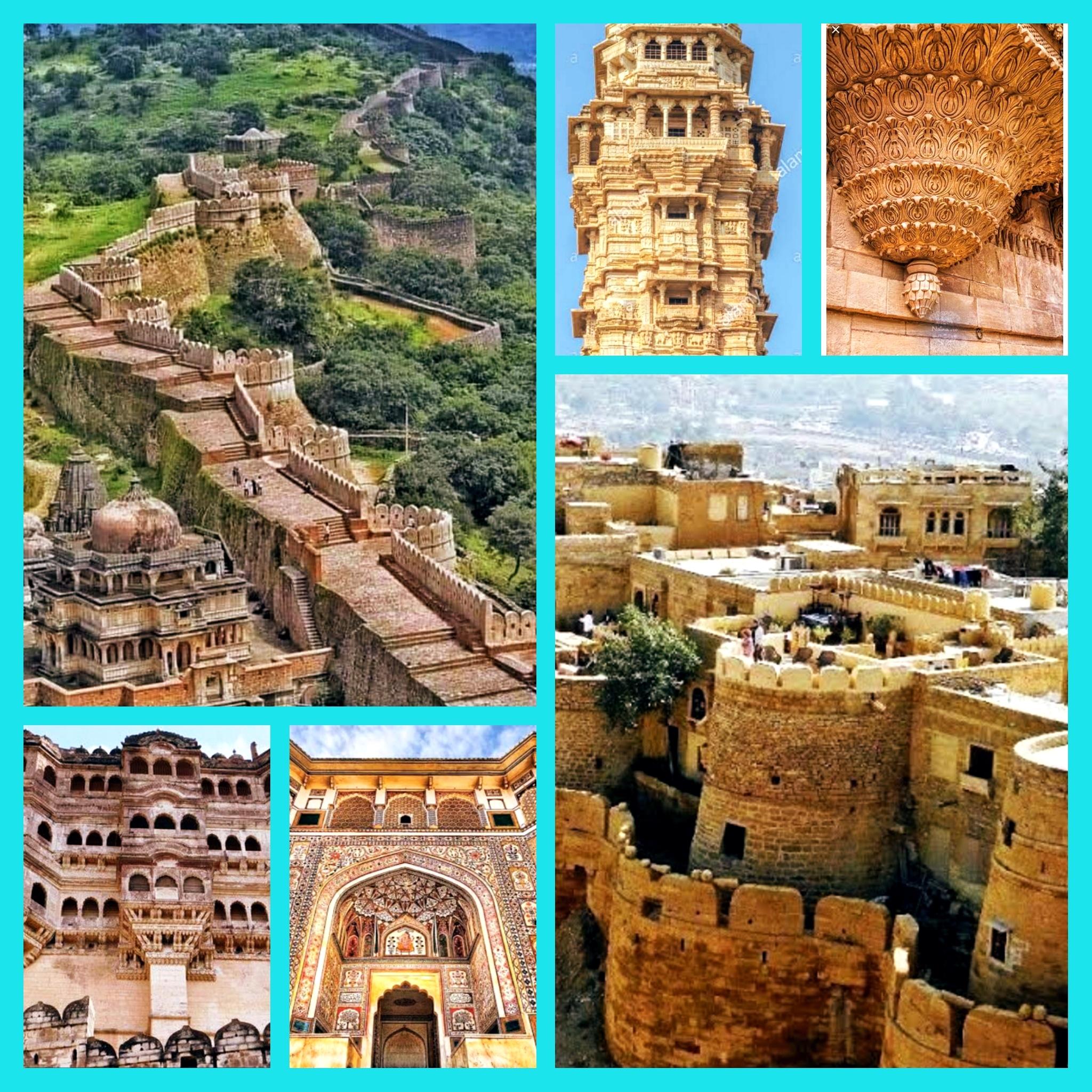 राजस्थान आये तो जरूर देखें गौरव के साक्षी ये किले