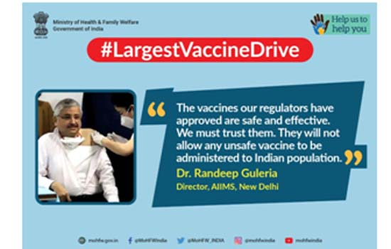 Dr Harsh Vardhan unveils IEC Campaign to address Vaccine Hesitancy and Misinformation
