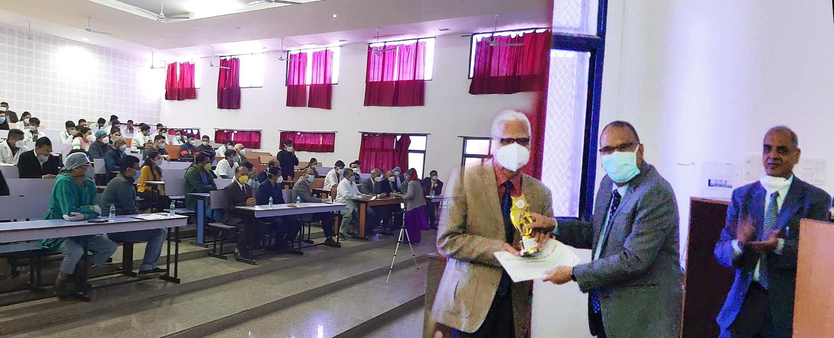 GMCH:कोविड-19 टीकाकरण पर सी.एम.ई. का हुआ आयोजन