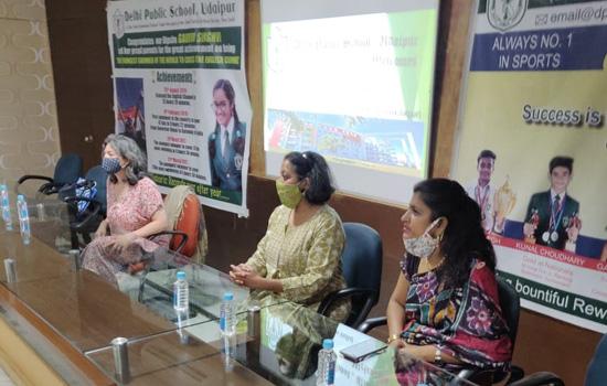 दिल्ली पब्लिक स्कूल,उदयपुर मे आयोजित फ्रेंच भाषा की संभावनाओं पर गोष्ठी