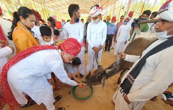पावापुरी मे पशु चिकित्सालय का उद्घाटन हुआ