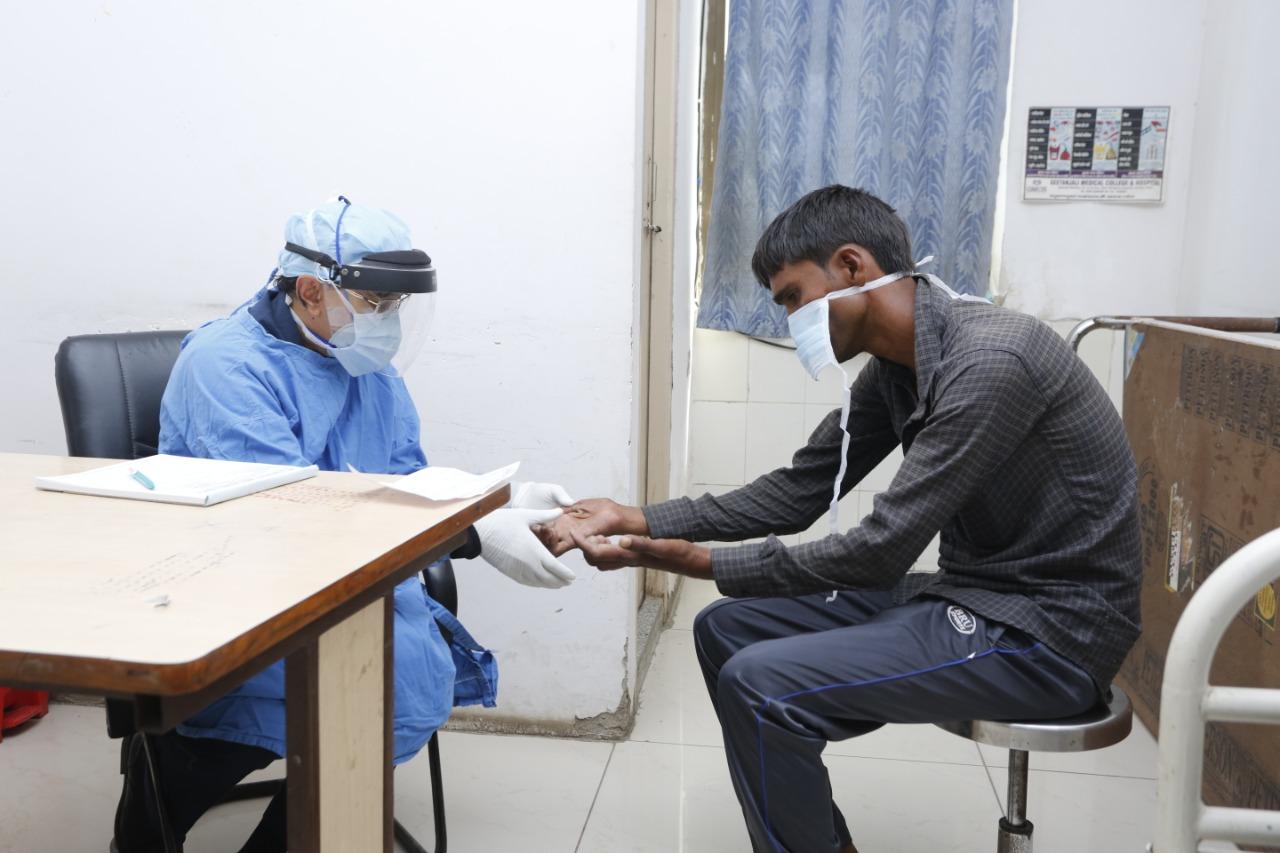 GMCH में रिकंस्ट्रक्टिव सर्जरी कैंप का हुआ आयोजन