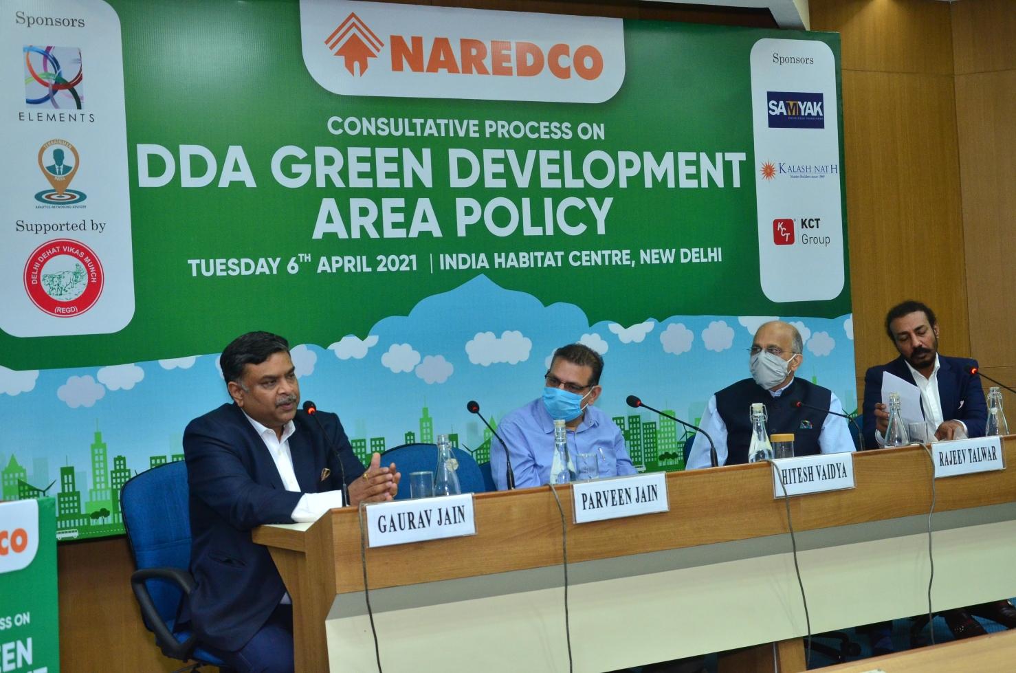 NAREDCO welcomes DDA Green Development Area Policy to boost green development and curb pollution in Delhi