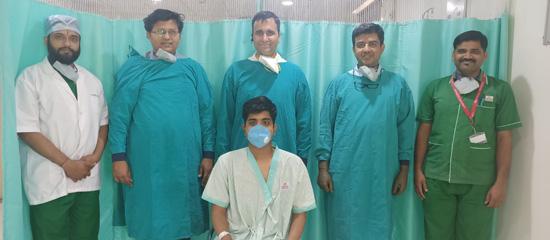 अल्सरेटिव कोलाइटिस सर्जरी गीतांजली हॉस्पिटल में भी हुई संभव