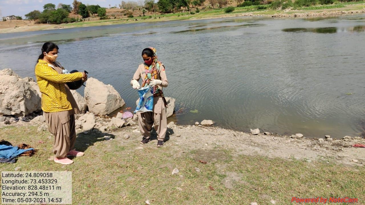 सुथार मादड़ा तालाब में अवैध मत्स्य आखेट पर मामला दर्ज