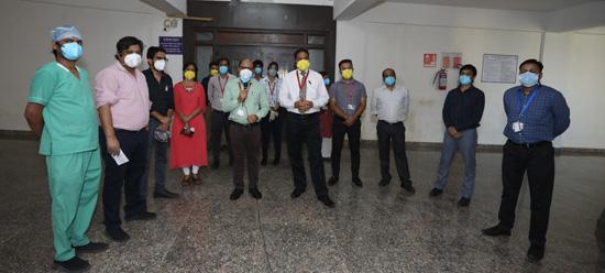 गीतांजली मेडिकल कॉलेज एवं हॉस्पिटल व गीतांजली कॉलेज एण्ड़ स्कूल ऑफ़ नर्सिग, उदयपुर में मनाया गया अन्तरराष्ट्रीय नर्सिग दिवस