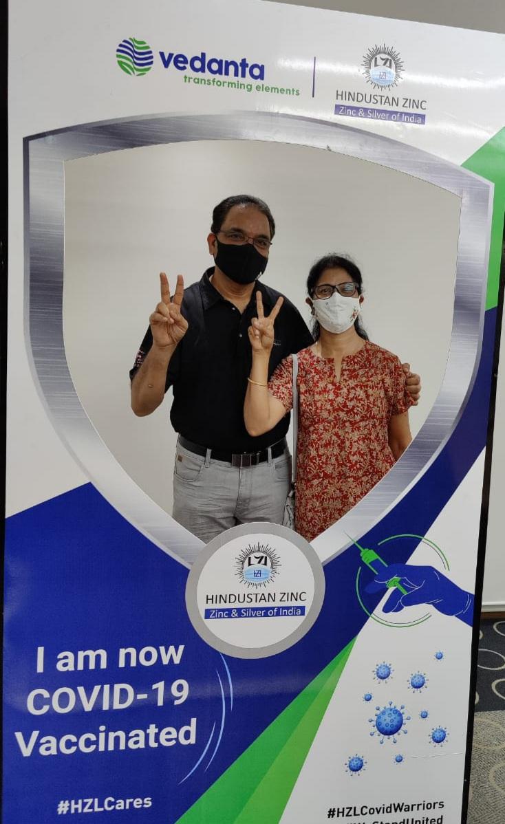 वेदांता द्वारा अपने कर्मचारियों और उनके परिवारों के लिए टीकाकरण प्रारंभ  Zinc_News :: pressnote.in