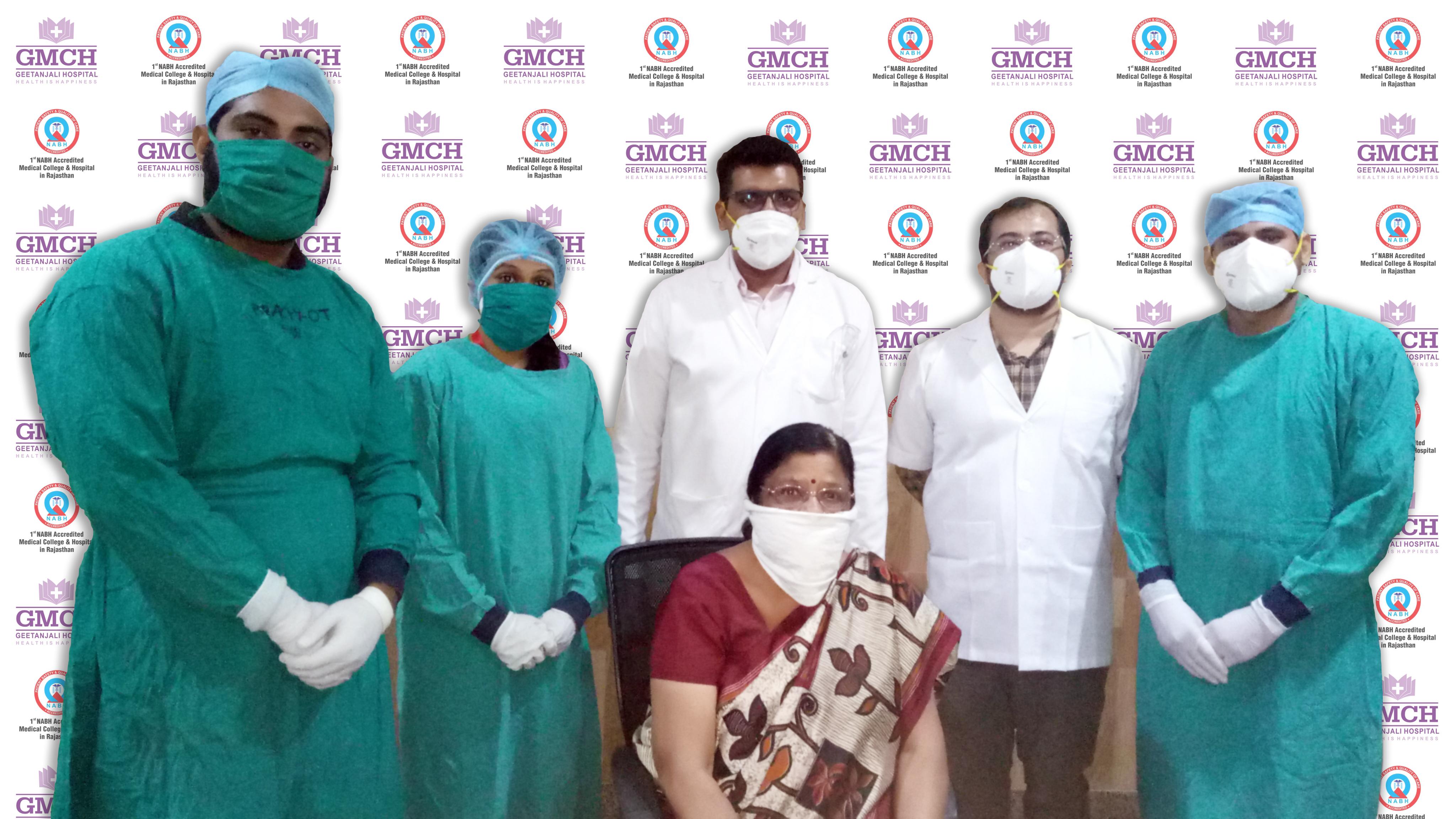 GMCH: उन्नत पद्धति त्वरित आंशिक स्तन विकिरण (एपीबीआई) द्वारा रोगी का हुआ सफल इलाज