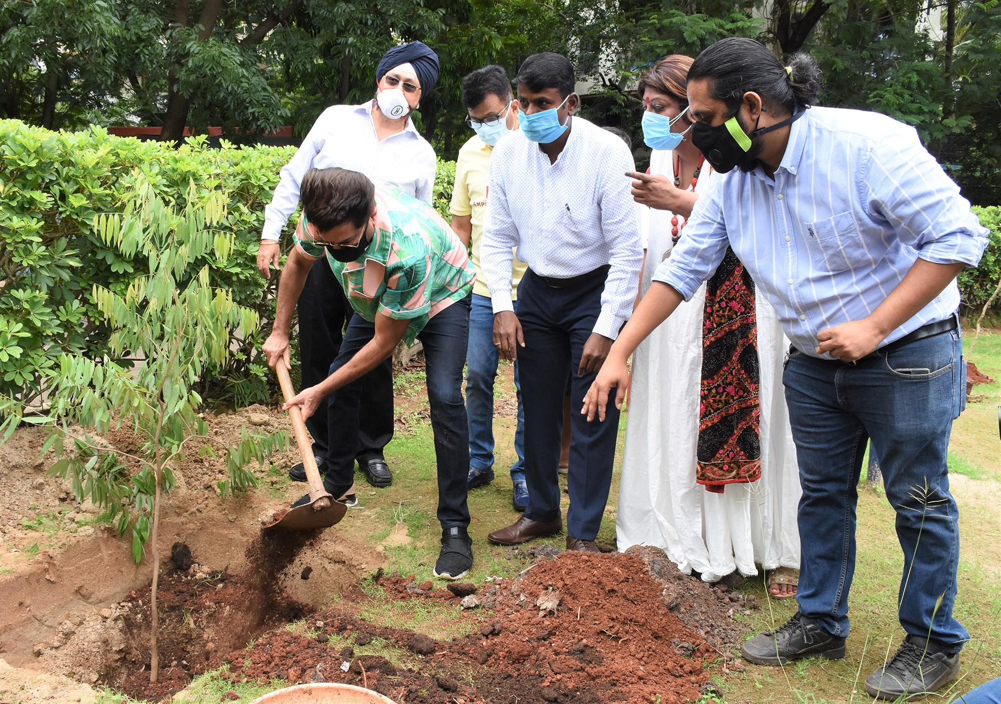 kick off BMC'S Be A Tree Parent MEGA Vriksha Campaign on World Environment Day