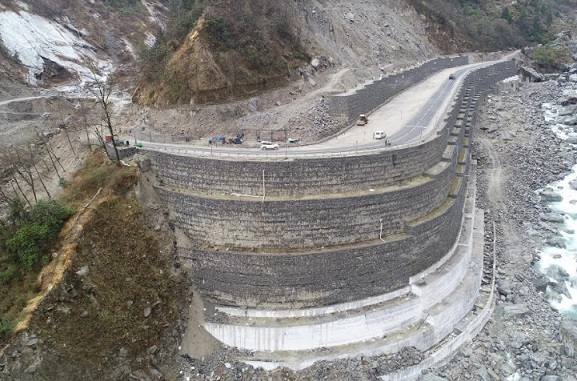 Maccaferri Successfully Completes Landslide Mitigation Works in the Hilly Terrains of Lambagarh, Uttarakhand