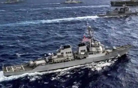 भारत, थाईंलैंड की नौसेनाओं का अंडमान सागर में समन्वित  अभ्यास शुरू