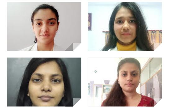 गीतांजलि इंस्टिट्यूट ऑफ़ फार्मेसी की छात्राओ का फार्मा कंपनी क्लीमेड रिसर्च सोलूशन्स में बतौर रिसर्च इंटर्न चयन