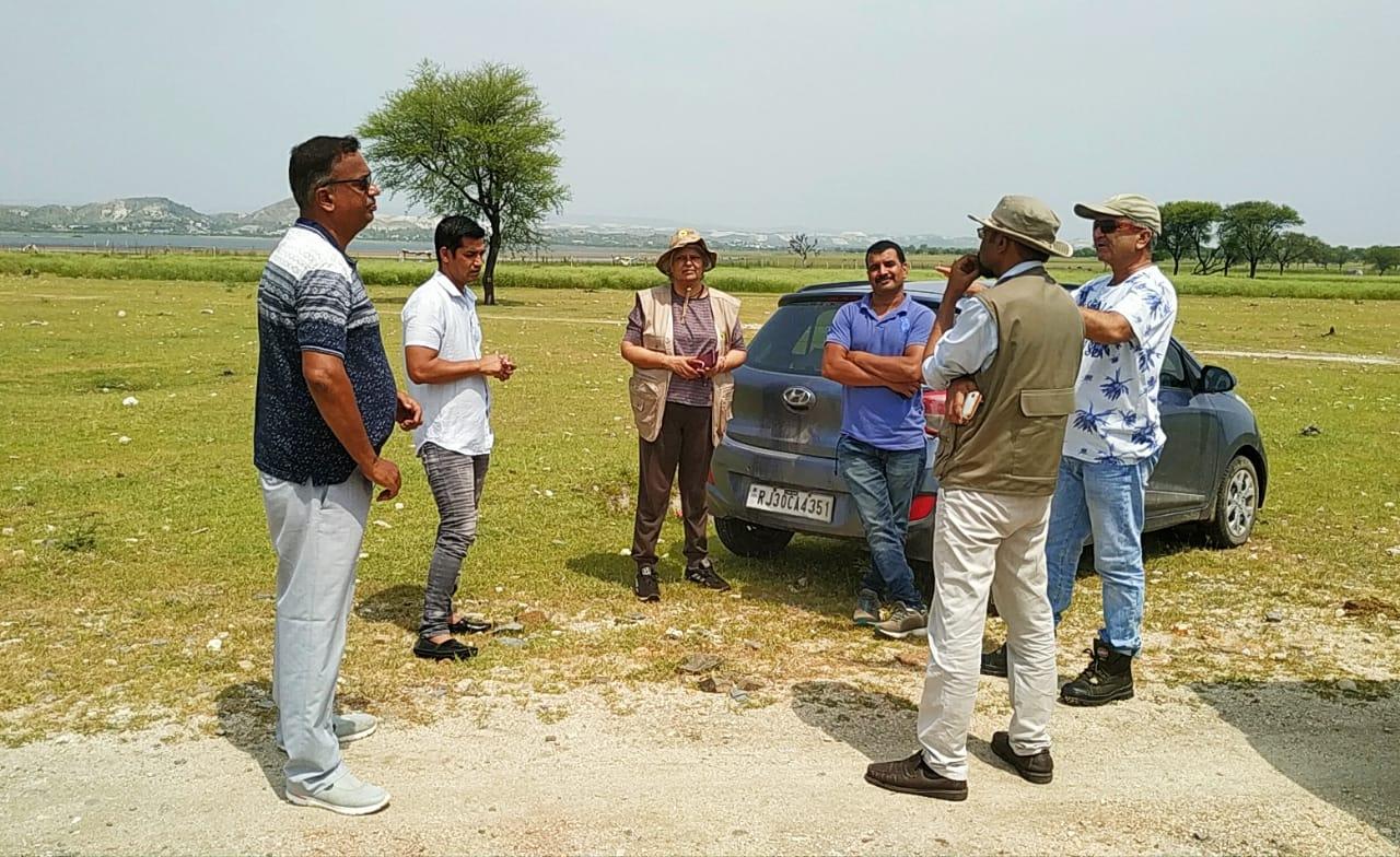 राज परिंदे नेचर क्लब सदस्यों की नेचर ट्रेकिंग में पहुंचे विशेषज्ञ