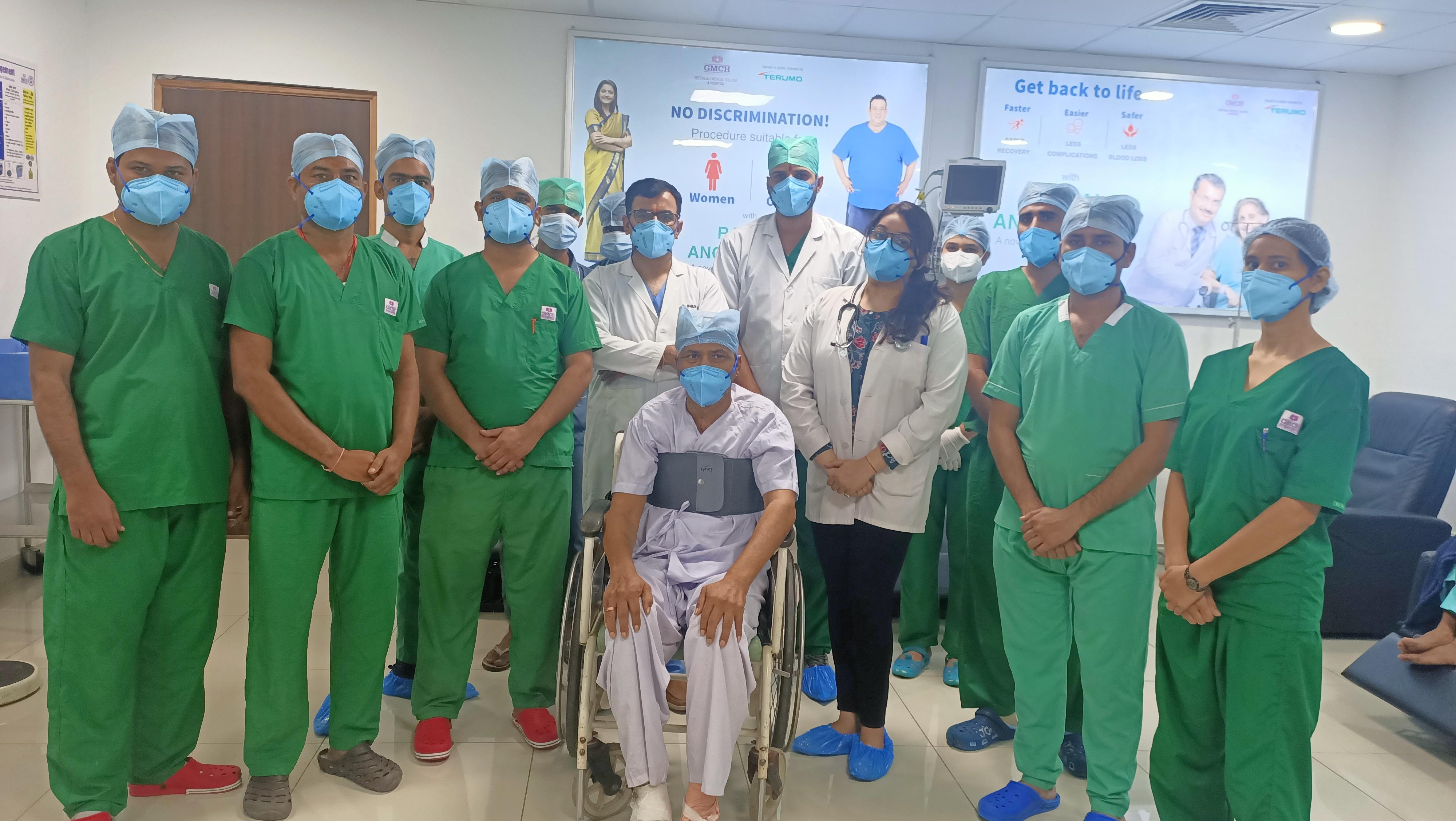 गीतांजली हॉस्पिटल ने बनाया कीर्तिमान