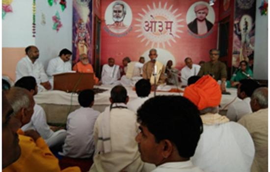 """""""गोरक्षा आन्दोलन को सफल करने के लिए हमें  अपनी शक्ति बढ़ानी होगी: डा. रघुवीर वेदालंकार"""""""