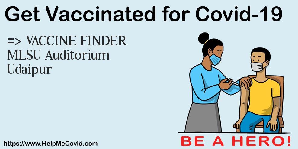 सुविवि- ग्यारहवें टीकाकरण शिविर में 1025को लगा टीका