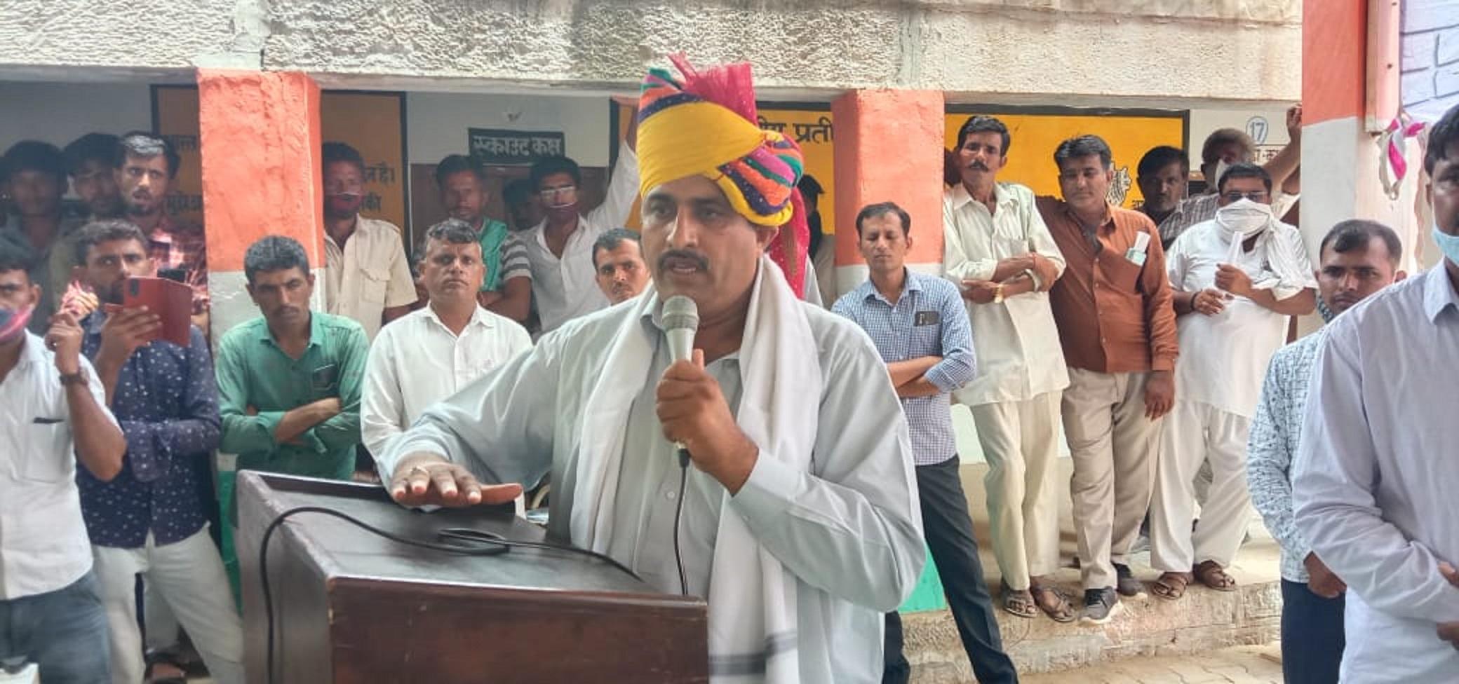 बारठ का गांव गौशाला में पौधारोपण कर दिया पर्यावरण चेतना का संदेश
