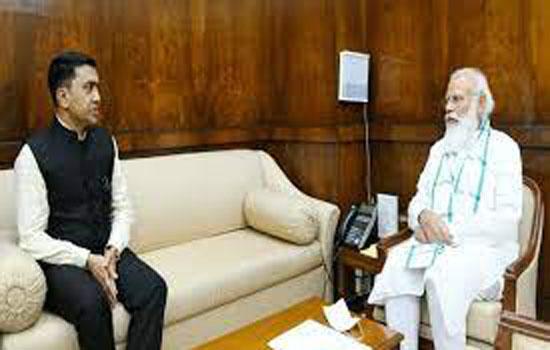 मुख्यमंत्री सावंत ने पीएम मोदी, अर्जुन मुंडा से मुलाकात की
