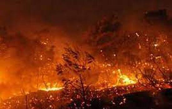 अमेरिका में आग और फैलने की आशंका