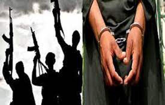 लश्कर के पांच आतंकी गिरफ्तार