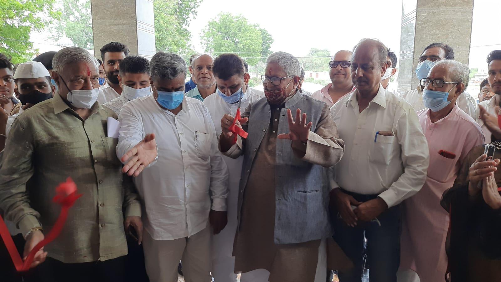 शाहपुरा में भाई चारे की राजनीति से विकास जारी रखा जायेगा- मेघवाल