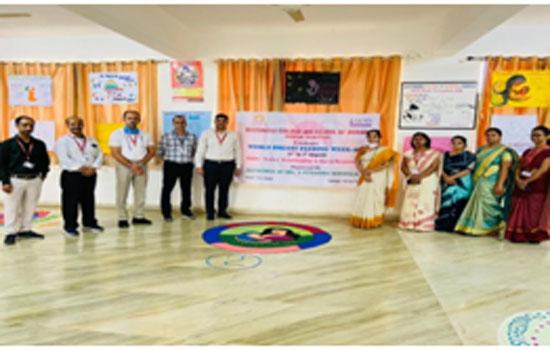 गीतांजलि कॉलेज ऑफ़ नर्सिंग में विश्व स्तनपान सप्ताह मनाया