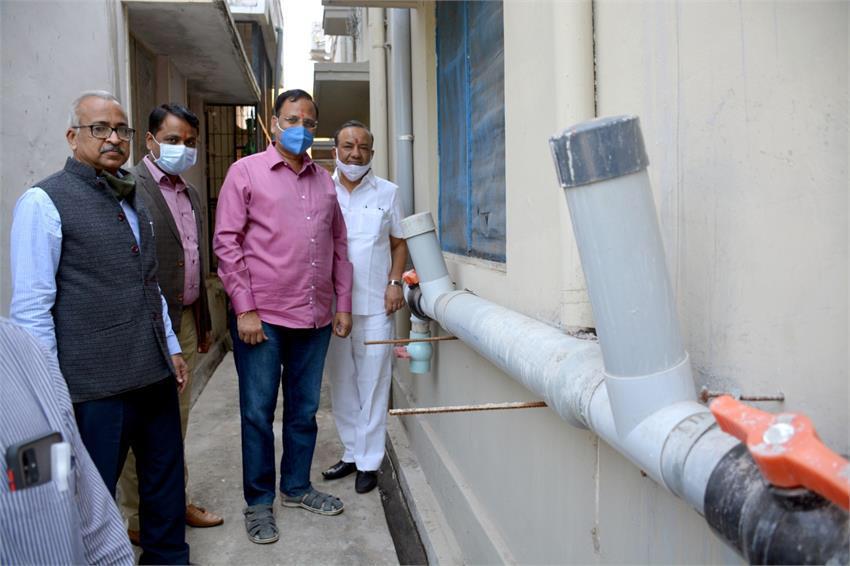 दिल्ली सरकार लागू कर रही है रेन वाटर हार्वेस्टिंग सिस्टम का डूंगरपुर जल संचय मोडल