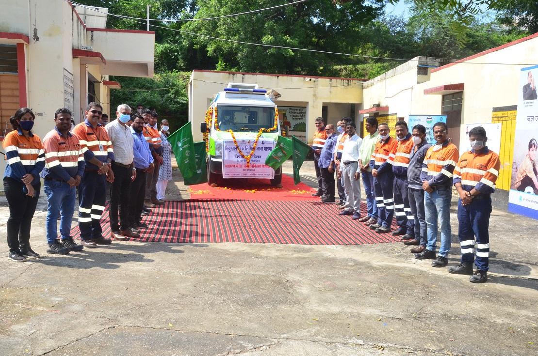 जिंक द्वारा जावर क्षेत्र के 28 गावों में स्वास्थ्य सेवा हेतु मोबाइल वेन का शुभारंभ