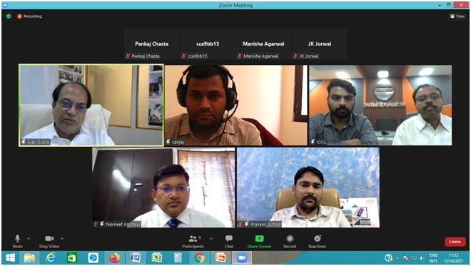 एमएसई विक्रेताओं की भूमिका के बारे में भी बताया